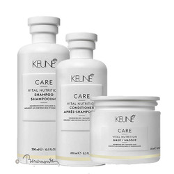 Keune CARE Vital Nutrition Shampoo, Conditioner en Masker