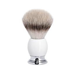 Muhle Sophist scheerkwast Silvertip Fibre® wit porselein