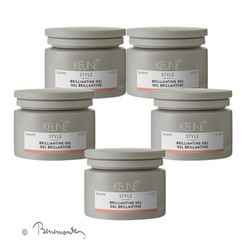 Keune Brilliantine gel 5x75 ml