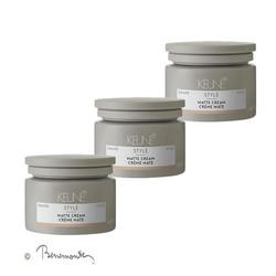 Keune Style Matte Cream 3x125 ml