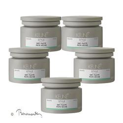 Keune Style Dry Paste 5x75 ml  volume voordeelpack