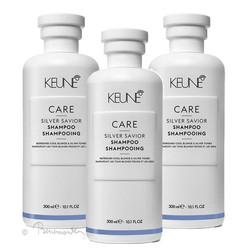 Keune CARE Silver Savior shampoo 3x300ml