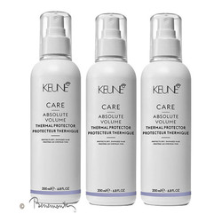 Keune Care Absolute Volume Thermal Protector 3x200 ml