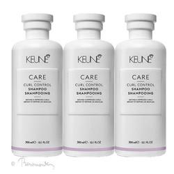 Keune CARE Curl control shampoo 3x300ml