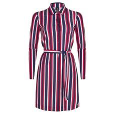 Jane Lushka Jane Lushka shirt jurk USB919SS120 white/blue