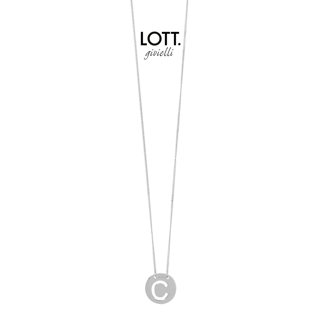 LOTT. Gioielli LOTT. Initial Collection ketting Small Silver