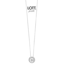 LOTT. Gioielli LOTT. Initial Collection ketting Small Silver