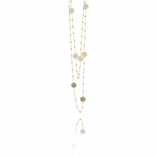 LOTT. Gioielli LOTT. Classic Collection ketting 8 Globes Gold Plated