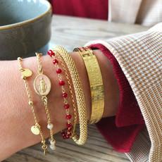 LOTT. Gioielli LOTT. Gioielli armband Rosary Round Charms
