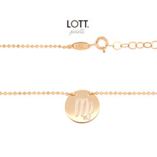 LOTT. Gioielli LOTT. Zodiac Collection ketting Maagd Large