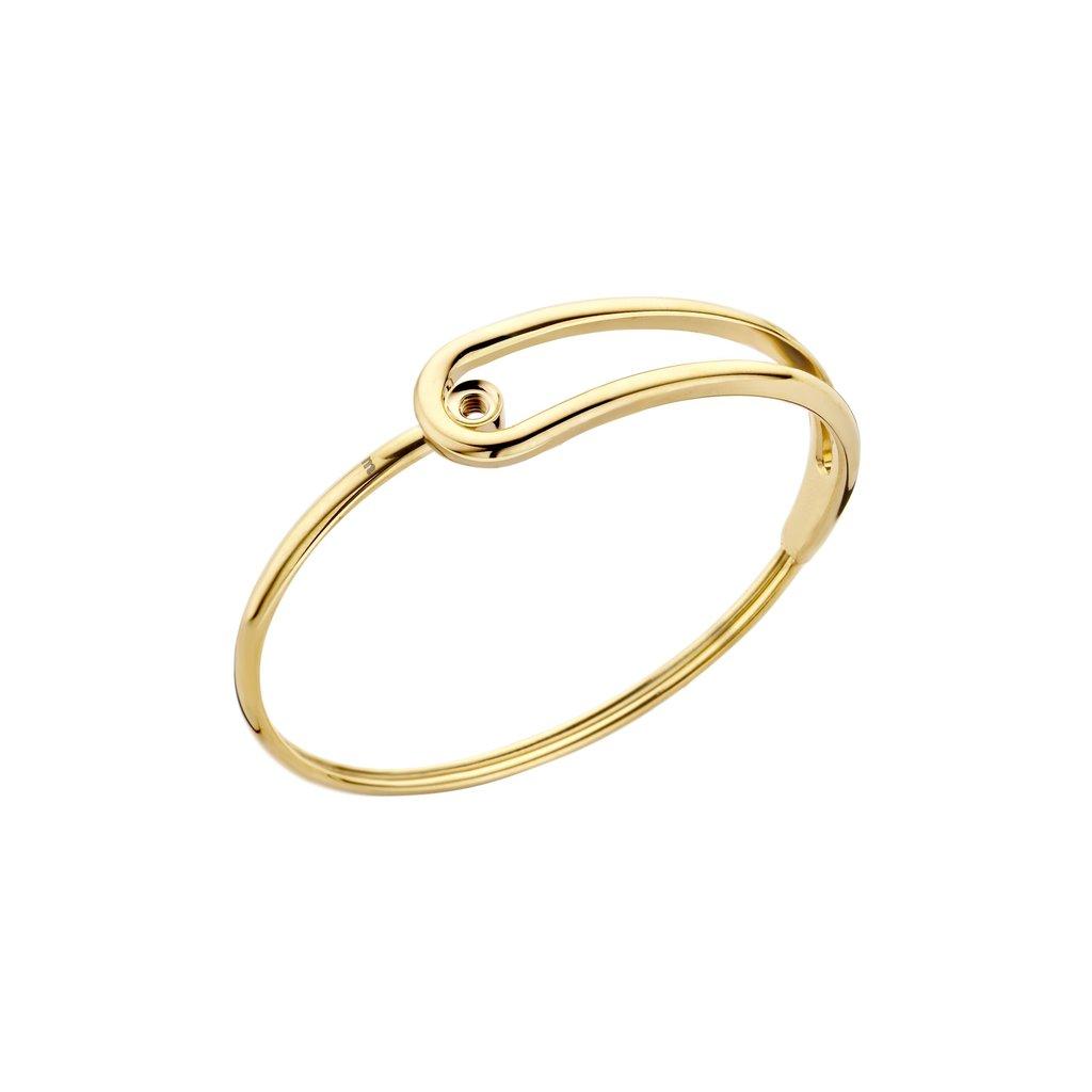 Melano Melano Twisted armband Taya Gold Plated