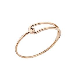 Melano Melano Twisted armband Taya Rosé Gold Plated