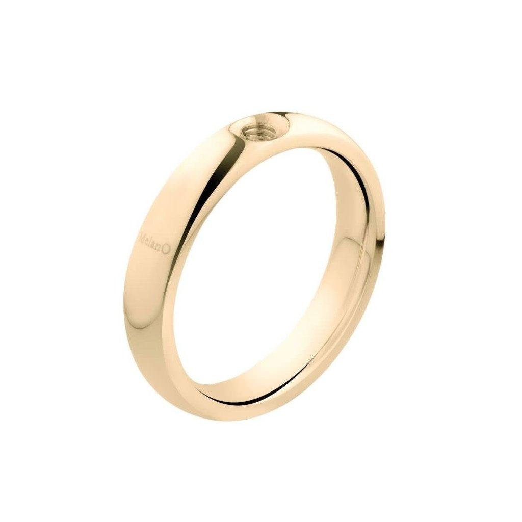 Melano Melano Twisted ring Tracy Gold Plated