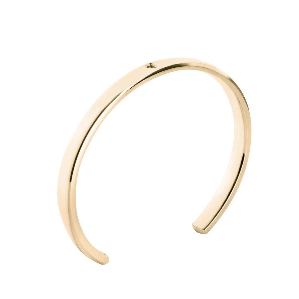 Melano Melano Twisted armband Tyra Gold Plated