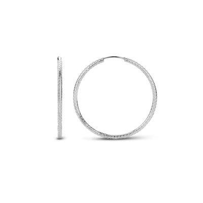 Mi Moneda Mi Moneda Monogram oorbellen Jade Silver
