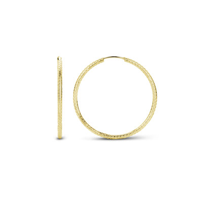 Mi Moneda Mi Moneda Monogram oorbellen Jade Gold Plated