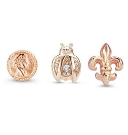 Mi Moneda Mi Moneda Icons icon set Ancient Rosé Gold Plated