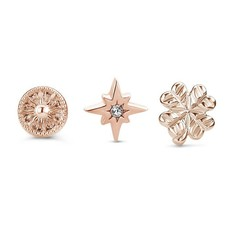 Mi Moneda Mi Moneda Icons icon set Universe Rosé Gold Plated