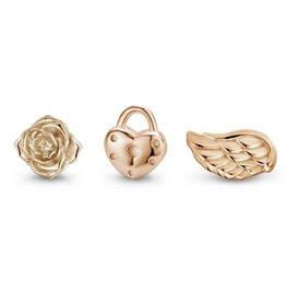 Mi Moneda Mi Moneda Icons icon set Love Rosé Gold Plated