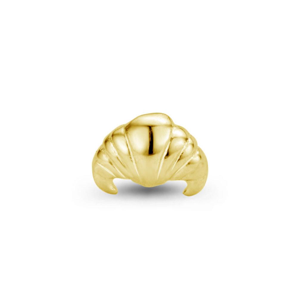 Mi Moneda Mi Moneda Icons icon Croissant Gold Plated