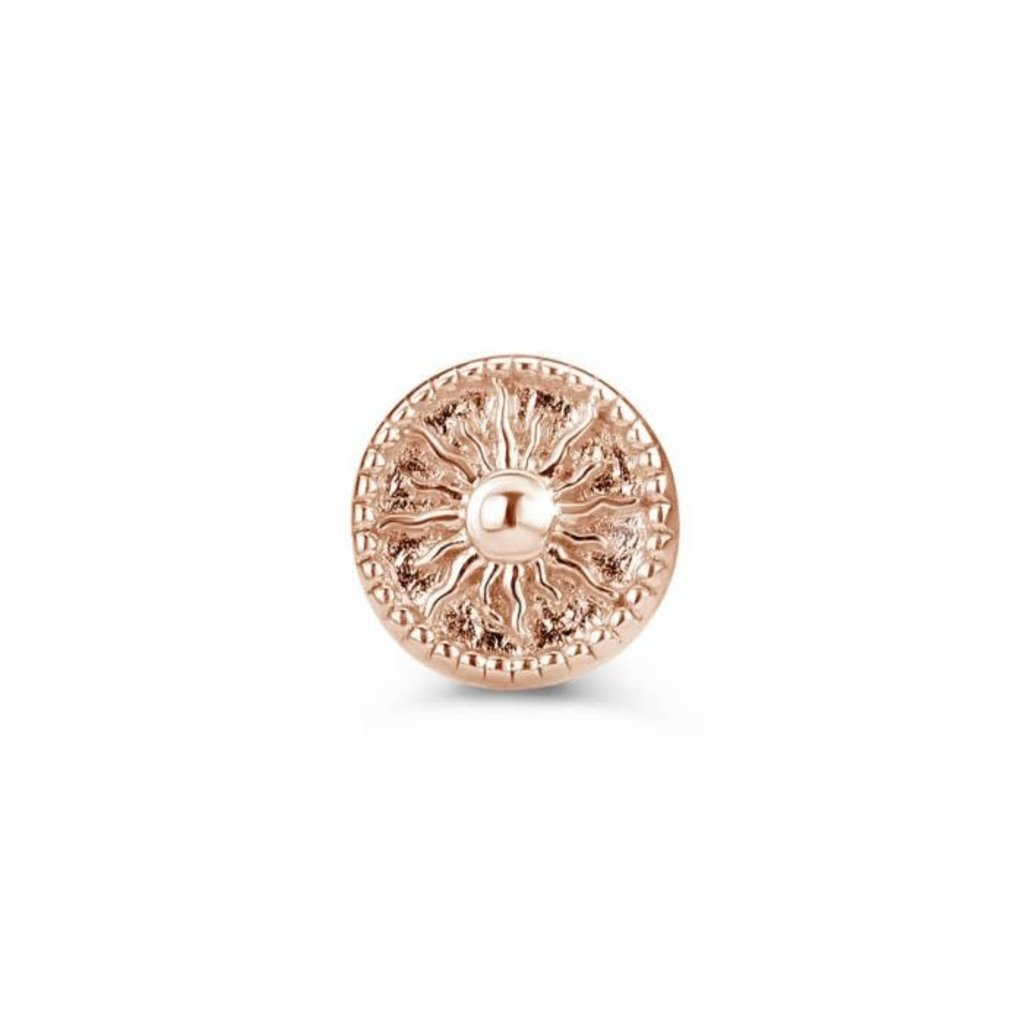 Mi Moneda Mi Moneda Icons icon Sun Rosé Gold Plated