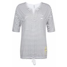 Zoso Zoso blouse 192 Aivy Striped 0004 Grey