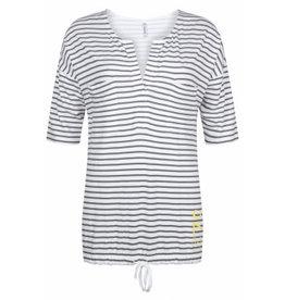 Zoso Zoso blouse Aivy Striped Grey