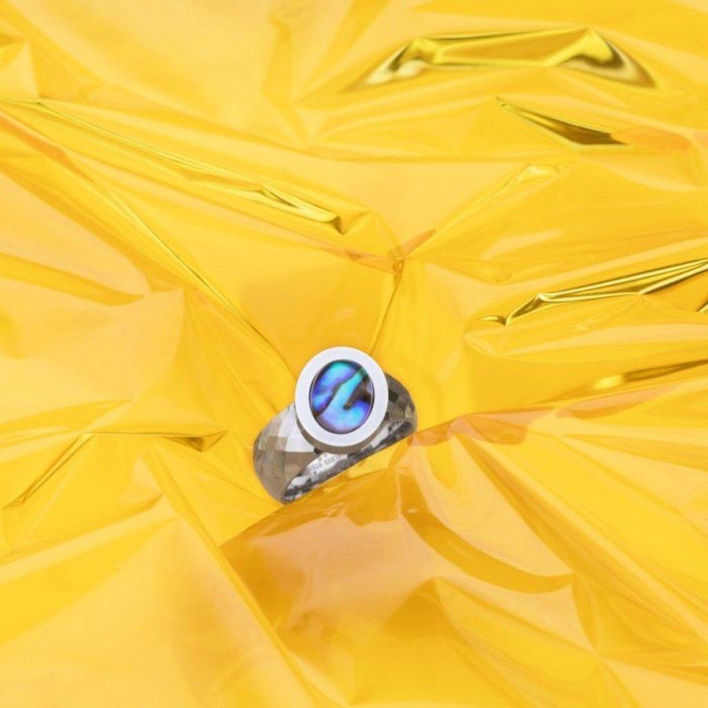 Melano Melano Vivid ring Vai Stainless Steel