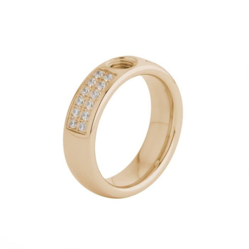Melano Melano Vivid ring Vicky CZ Rosé Gold Plated