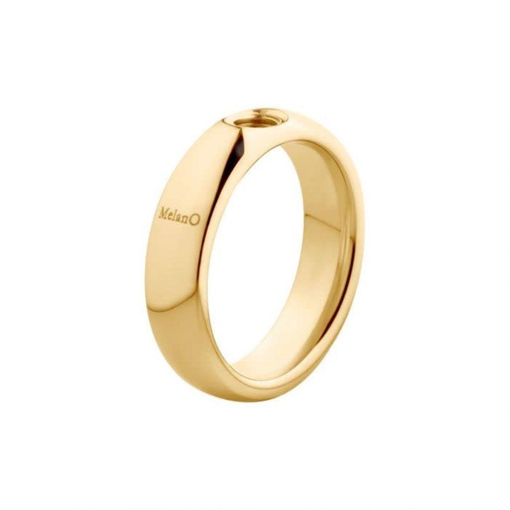 Melano Melano Vivid ring Vicky Gold Plated