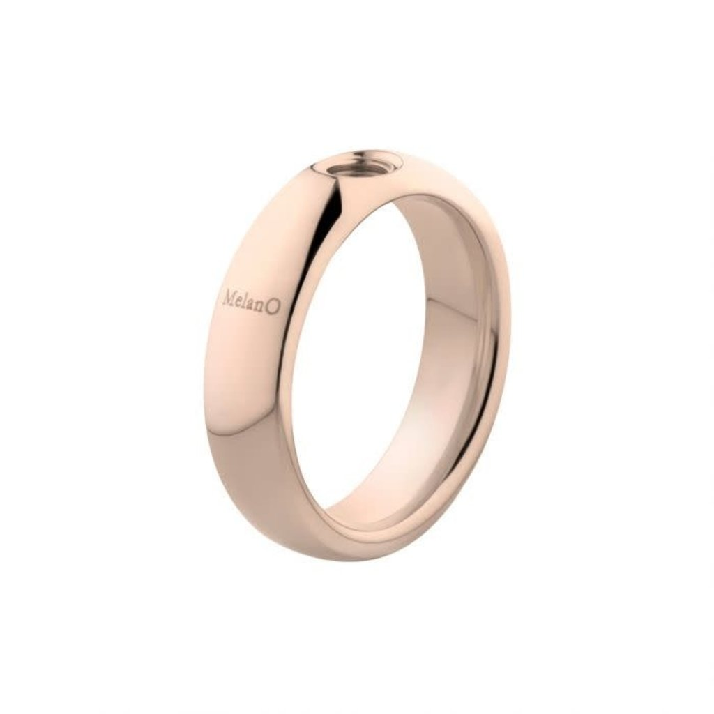 Melano Melano Vivid ring Vicky Rosé Gold Plated