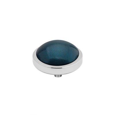 Melano Melano Vivid meddy Pearl 8 mm Stainless Steel Grey blue