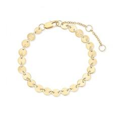 Melano Melano Friends armband Circle Gold Plated