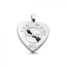 Mi Moneda Mi Moneda Vintage pendant Fortune Teller Heart Silver