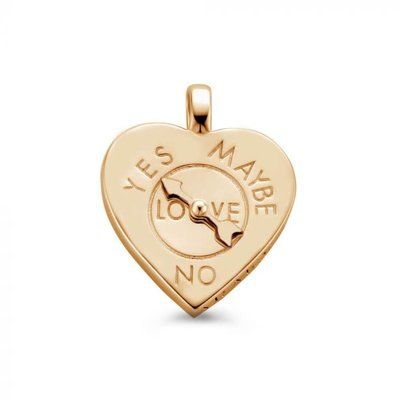 Mi Moneda Mi Moneda Vintage pendant Fortune Teller Heart Rosé Gold Plated