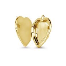 Mi Moneda Mi Moneda Vintage medallion Heart Gold Plated