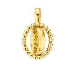 Mi Moneda Mi Moneda Vintage pendant Soho Oval Gold Plated