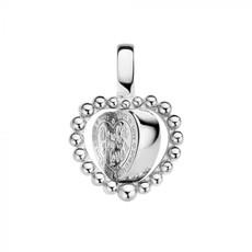 Mi Moneda Mi Moneda Vintage pendant Queens Heart Silver