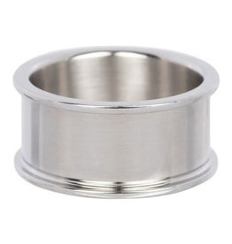 iXXXi Jewelry iXXXi basisring 10 mm Stainless Steel