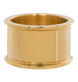 iXXXi Jewelry iXXXi basisring 12 mm Gold Plated