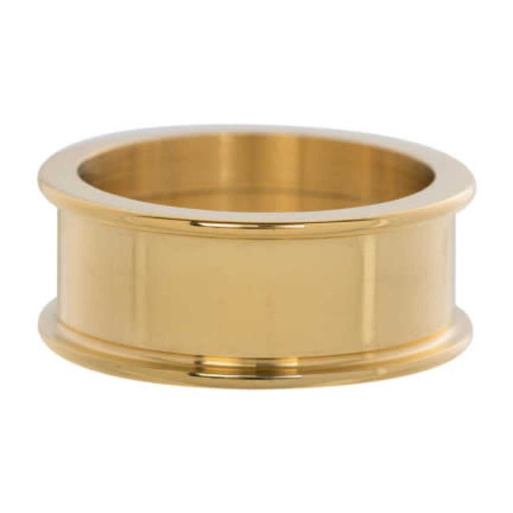 iXXXi Jewelry iXXXi basisring 8 mm Gold Plated