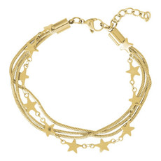 iXXXi Jewelry iXXXi armband Snake & Stars Gold Plated
