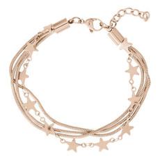 iXXXi Jewelry iXXXi armband Snake & Stars Rosé Gold Plated