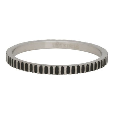 iXXXi Jewelry iXXXi vulring 2 mm Cartels Matt Stainless Steel Fill In R02814-18