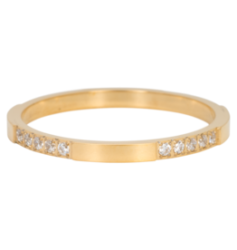 iXXXi Jewelry iXXXi vulring 2 mm Chic Gold Plated R05201-01