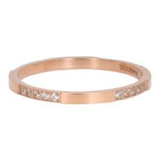 iXXXi Jewelry iXXXi vulring 2 mm Chic Rosé Gold Plated R05201-02