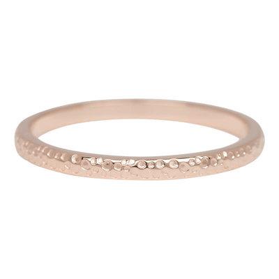 iXXXi Jewelry iXXXi vulring 2 mm Dancer Rosé Gold Plated R02807-02