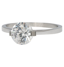 iXXXi Jewelry iXXXi vulring 2 mm Glamour Stone Crystal Stainless Steel R04201-03