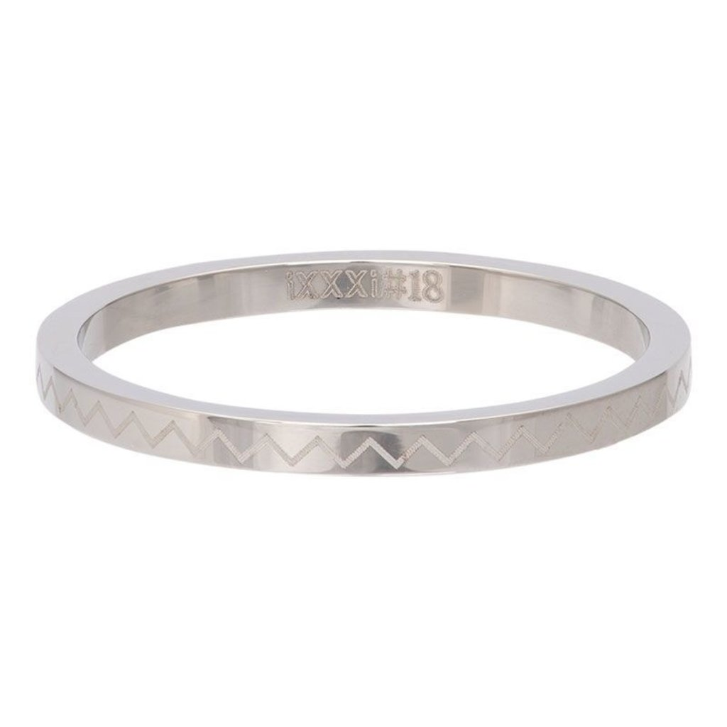 iXXXi Jewelry iXXXi vulring 2 mm Heartbeat Stainless Steel R02816-03