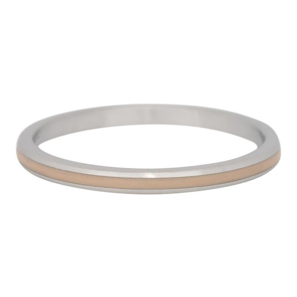iXXXi Jewelry iXXXi vulring 2 mm Line Beige Stainless Steel R02305-03